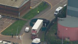 Velika Britanija: Tela 39 osoba pronađena u kamionu