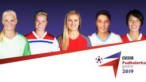 BBC izbor za fudbalerku godine - glasajte za jednu od pet kandidatkinja