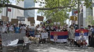Protesti u Srbiji: Korona virus, demonstracije i nasilje – zašto se dijaspora pridružila protestima