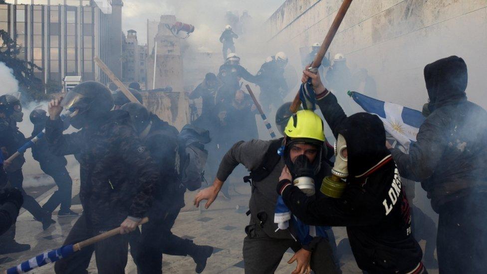 Makedonija i Grčka: Sukobi u Atini zbog promene imena