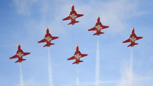 Švajcarski tim za akrobacije: Avioni preletali preko pogrešnog grada