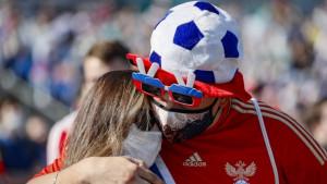 Korona virus, Rusija, EURO 2020 u fudbalu: Zabrinjavajući skok broja zaraženih ohladio rusku fudbalsku groznicu