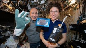 Svemirski kolačići - astronauti prvi put pekli hranu u svemiru