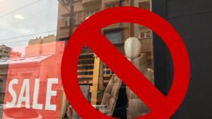 Srbija, ratni zločini i Srebrenica: Zabranjena prodaja proizvoda s natpisom