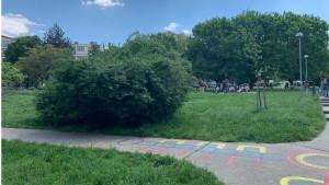 Beograd, Poljanče na Zvezdari i poligoni za decu: Gde god nađeš zgodan beton tu igru posadi