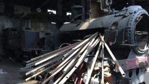 Beograd: Od neprocenjivih lokomotiva ostali samo kosturi