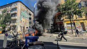 Nemačka: Neredi u Berlinu - povređeno 60 policajaca u sukobima sa skvoterima