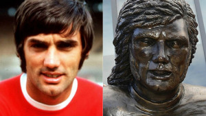 Džordž Best: Statua slavnog fudbalera izazvala podsmeh navijača