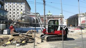 Beograd: Kako radovi na Trgu republike utiču na građane koji tamo rade