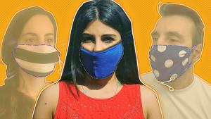 Korona virus: Kako da sami napravite masku