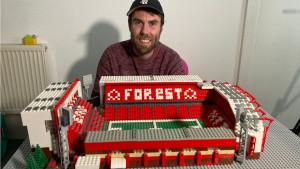 Fudbal i navijači: Napravio stadion Notingema od Lego kockica tokom karantina usled kovida