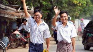 Dvojica novinara Rojtersa iz Mjanmara na slobodi