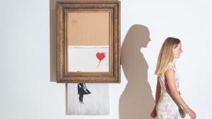 Umetnost: Benksijevo delo Ljubav je u kanti prodato za rekordnih 18,8 miliona evra