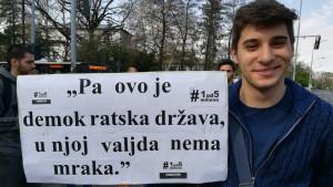 Godinu dana protesta - stručnjaci o rezultatima: Jedinica za slobodne medije, trojka za poštene izbore