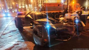Policija u Moskvi zaplenila betmobil
