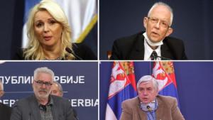 Korona virus i Srbija: Ko su Darija Kisić Tepavčević, Predrag Kon, Goran Stevanović i Branimir Nestorović