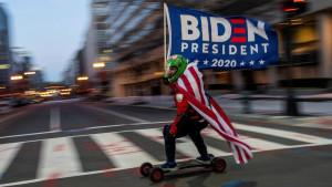 U fotografijama: Amerika na dan inauguracije Bajdena i odlaska Trampa