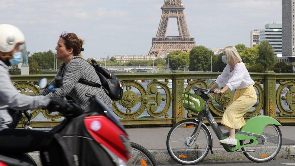 Korona virus: Kako je pandemija pokrenula evropsku biciklističku revoluciju