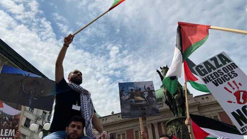Izrael, Palestina i Srbija: Bio sam u skloništu kao mali - ne bih više; Hoćemo našu državu, ne odustajemo