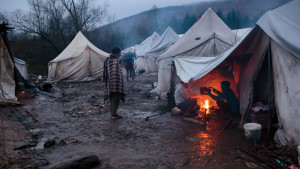 Vučjak: Izbeglice i migranti žele što dalje odatle