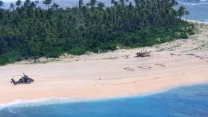 Pacifik: Spaseni sa zabačenog ostrva u Mikroneziji zahvaljujući SOS poruci u pesku
