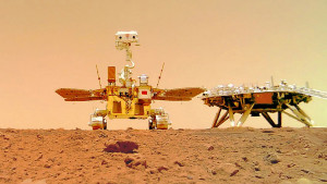 Svemir, istraživanja, Kina: Rover Džužong napravio selfi na Marsu