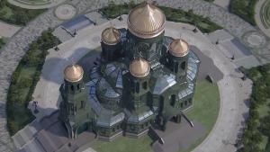 Moskva: Vojska podiže crkvu iz 'Igre prestola'