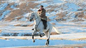Kim Džong-Un: Vrhovni vođa Severne Koreje jaše po svetoj planini