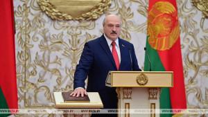 Belorusija: Lukašenko nenajavljeno položio predsedničku zakletvu
