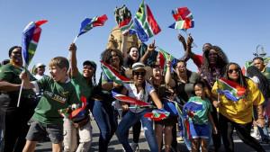 Svetski kup u ragbiju, predizborna kampanja i brejkdens - nedelja za nama u fotografijama