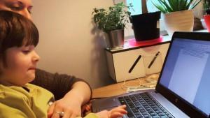 Mame, korona virus i rad od kuće: