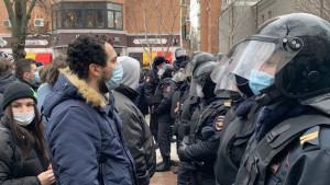 Rusija, Navaljni i protesti: