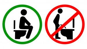 Da li muškraci treba da sede ili da stoje