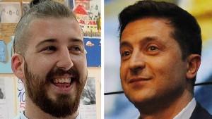 Satira u politici: Beli u Srbiji, Zelenski u Ukrajini - sličnosti i razlike