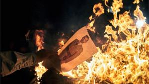 Kriza u Kataloniji: Separatisti zapalili sliku španskog kralja