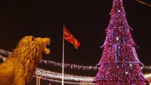 Praznici u Skoplju: Kako je okićena makedonska prestonica