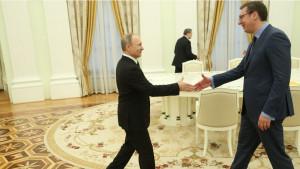 Putin četvrti put među Srbima
