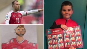 Fudbal i Evropsko prvenstvo: Kako je dečak iz Beograda pomogao u oporavku Kristijana Eriksena