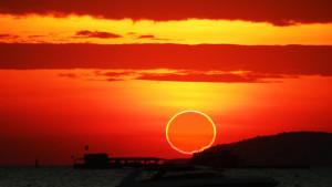 Astronomija, Sunce i Mesec: Pomračenje u vidu